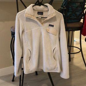White Patagonia Sweater